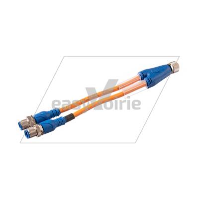 -Y CABLAGE M12 1F+2M CABLE LG 0.1 ML (2-4/ 4-4) FAUN*